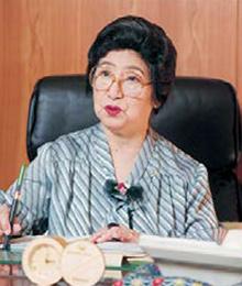 第二代理事長松尾 波儔江 まつお はずえ