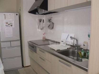 寮生用キッチン